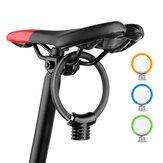 BIKIGHR盗難防止自転車リングロックポータブル自転車ミニセーフティロックラケットロックサイクルMTBバイクセキュリティロックサイクリング機器