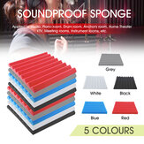 4Pcs/Set 50x50X5CM Acoustic Foam Panel Home Treatment Sound Absorption Tiles