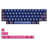 MechZone 67 Keys Keycap Set OEM Profile ABS Keycaps for 61 Keys Mechanical Keyboards