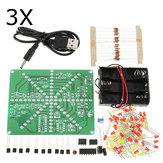 3個のDIY LEDランプキットLEDフラッシュセット電子製品キット