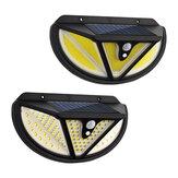 ARILUX 118SMD / 117COB LED الشمسية ضوء حركة تحريض جسم الإنسان المستشعر جدار ضوء خارجي ضد للماء IP65