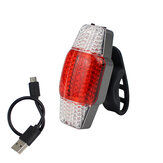 BIKIGHT Intelligent Turn Signal Brake Bike Light USB Rechargeable Taillight COB LED