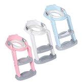 PVCSoftは段階的な子供用トイレのはしごを進めます子供用トイレを折りたたむ