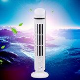 Bakeey Mini Ventilador sem lâmina vertical para mesa USB portátil Ventilador refrigerador de ar pessoal Ventiladores de refrigeração de ar portátil Torre de ar condicionado