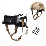 WoSporT Tactical Helmet Locking Buckle System Outdoor Protective Adjustable Strap Accessory