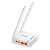 TOTOLINK 300M Mini Wireless N Router WiFi Repeater Easy Setup Smart WiFi Router 2.4G Parental Control