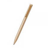 Original Xiaomi Mijia 0.5mm Writing Point Sign Pen Gold Mental Signing Pen