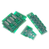 35Pcs 7 Values Each 5 PCB Board Kit SMD Turn To DIP SOP MSOP SSOP TSSOP SOT23