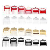 6Pcs Wall Universal Hair Clipper Accessories Limit Comb Electric Clipper Card Set Positioning Comb