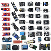Geekcreit 45 In 1 Sensor Module Board Starter Kits Upgrade Version For Arduino UNO R3 MEGA2560 Plastic Bag Package