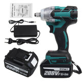 VIOLEWORKS 288VF 1/2'' 800NM Electric Cordless Brushless Impact Wrench With 1/2 Battery