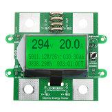 300V 100A voltmètre numérique DC ampèremètre compteur de puissance Batterie testeur compteur de puissance multifonction