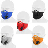BIKIGHT Washable Pollution Dust Mask Activated Carbon Filter Fine N99 Air Filter Wholesale Anti Odor Smog Custom Cotton Pollen Dust Mouth Face Mask for Sport Cycling Motorcycle
