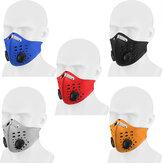 BIKIGHT Yıkanabilir Kirlilik Toz Maske Aktif Karbon Filtre Ince N99 Hava Filtresi Toptan Anti Koku Smog Özel Pamuk Polen Toz Ağız Yüz Maske Spor Bisiklet Motosiklet için