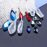 1pcs cristallo gemme epossidiche ciondolo pendente Silicone stampo