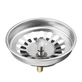 Stainless Steel Kitchen Sink Strainer Waste Plug Drain Stopper Water Filter Basket Shape