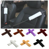 Velour Car Seat Belt Should Pad Winter Guard Cover Protector Seat Belt Cushion Universal
