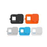 TELESIN Silikon Koruyucu Kılıf ve Lens GoPro Hero 8 Sports Kamera için Kapak