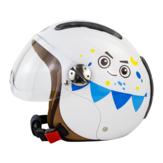 SOMAN SM306 детский электрический шлем Авто дышащий солнцезащитный крем скутер мото шлемы безопасность детей Шапка со съемным Объектив