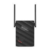 Ripetitore wireless BlitzWolf® BW-NET2 300 Mbps Extender di portata wireless per 64 dispositivi Amplificatore di segnale WiFi portatile