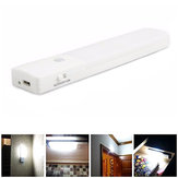 USB Oplaadbare LED Onder Kabinet Night Light Motion Sensor Keukenkast Kastkastje Lamp