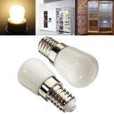 E14 LED Ampoule 2W Blanc / Blanc chaud 100LM Lumière de réfrigérateur CA 220-240V