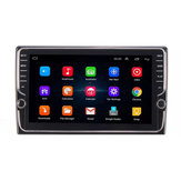 9 Zoll Quad Core für Android Autoradio Touchscreen GPS Navigation Wifi AM mit Dual Knob