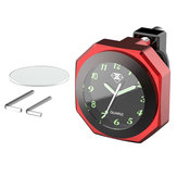 Horloge de moto Luminous Mount Waterproof Shock Guidon ResistanT-guidon 22-28mm / 0.8-1.1in