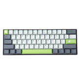 MechZone 109 Keys Lime Keycap Set OEM الملف الشخصي PBT Keycaps for 61/68/87/104/108 Keys Mechanical Keyboards