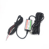 Universal DVR Driving Recorder Camera Micro USB Step Down Line to ACC