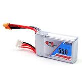 Gaoneng GNB 11.1V 550mAh 80 / 160C 3S LipoバッテリーXT30プラグ用Eachine Lizard95 FPVレーサー