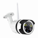 Security IP Camera 1080P Wireless IP Onvif Surveillance Camera 200W 98ft Night Vision Bullet Baby Monitor Two-Way Audio Waterproof Moving Detect