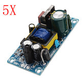 5pcs AC-DC 5V 2A Switching Power Supply Board Low Ripple Power Supply Board 10W Switching Module