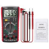 ANENG DT9205A nouvellement HD multimètre professionnel numérique vrai RMS Auto testeur de courant de tension ca / cc buzzer multimètre électrique