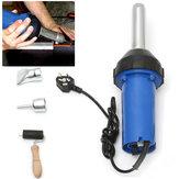 220V 1000W 2800Pa Plastic Welder Integrated Hot Air G-un Welding Plastic Rod Repair Tool