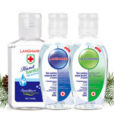 4 PCS LANGMANNI 60ML Sterilization Alcohol-free Gel Hand Spot Bacteriostatic Amino Acid Gel Disinfectant Free Hand Soap Sanitizer
