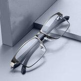 Lettura da lavoro da uomo in acciaio inossidabile Occhiali per lettore ottico da uomo presbite Occhiali