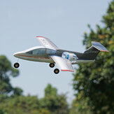 MinimoRC Fanjet 360mm Apertura alare KT Foam Mini RC Airplane KIT con EDF / EDF + Servi