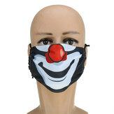 Filtro riutilizzabile lavabile con polvere di stampa spaventosa di Halloween e bocca riutilizzabile calda Maschera