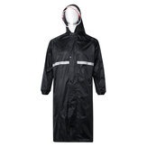 Reflective Waterproof Rainsuit Rain Pants Anti-UV Riding Raincoat Cover With Hat