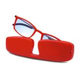 Uchwyt na całą ramkę Przenośne, trwałe, lekkie, żywiczne okulary do czytania Brązowe przeciwzmęczeniowe Anti Blue Light