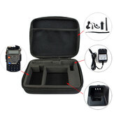Storage Box Bag maniglia di trasporto Radio Case for Baofeng UV-5R Retevis RT-5R TYT TH-F8 radio bidirezionale