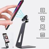 Bakeey Magsafe Desk Tablet Phone Holder Rotazione a 360 ° Supporto in lega di alluminio per iPhone 12 per iPad Pro Air Smartphone