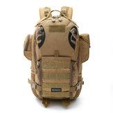 Myszka myśliwska wielofunkcyjna wielofunkcyjna Torba odpinana 56-75L Wodoodporny plecak Oxford o dużej pojemności