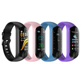 XANES® Y10 0.96'' IPS Color Screen Waterproof Smart Watch Heart Rate Monitor Sports Fitness Sports Bracelet Mi Band