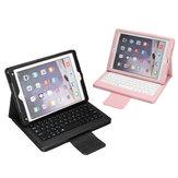 Verwisselbare bluetooth toetsenbord flip lederen tablet case cover voor iPad Pro 10.5 inch 2017/iPad Air 10.5 inch 2019
