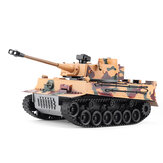 RBR/C 1/18 2.4G Germany Tiger Battle RC Tank Car Vehicle Models