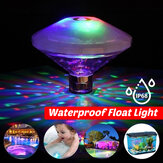 Spa Whirlpool LED Swimming Pool Light Floating Colorful Unterwasser-Babywanne Toy Waterproof Lamp