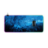 Starry sky Oversized Non-slip Thickened Mouse Pad RGB Gaming Keyboard Pad for PC Latop