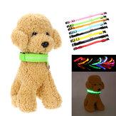 Светодиодный регулируемый ошейник для домашних животных USB перезаряжаемый световой Собака воротник ожерелье Собака принадлежности На от